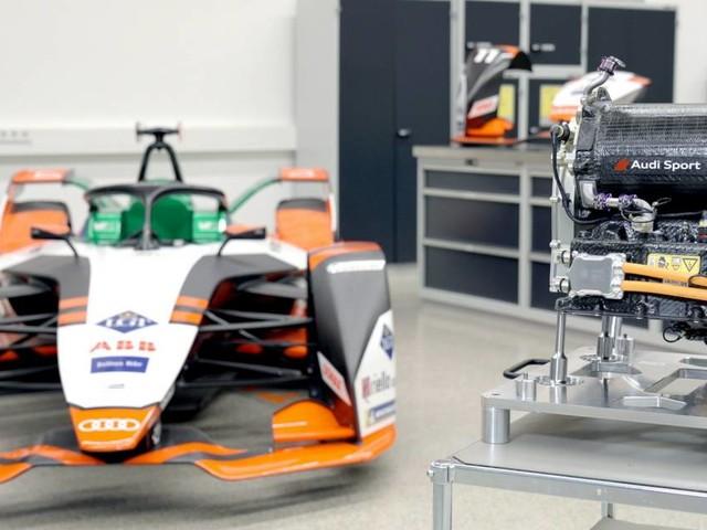 Formula E - Per la e-tron FE07 il primo powertrain tutto Audi