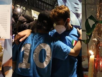 Addio Maradona, il giorno delle lacrime più amare: così finiscono il sogno e la giovinezza