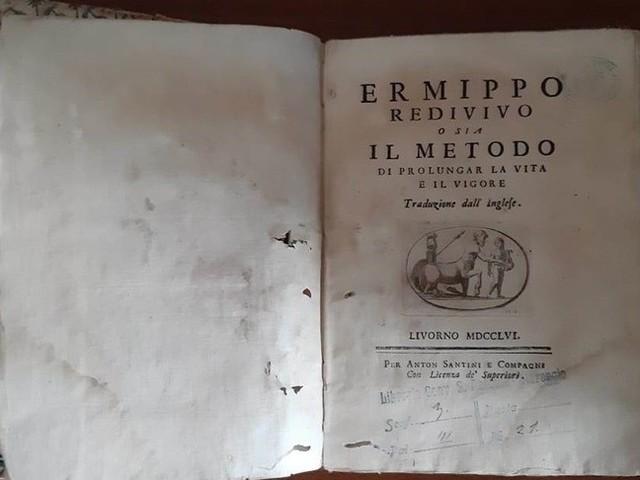 Ritrovato manuale del '700 che insegnava a vivere fino a 150 anni
