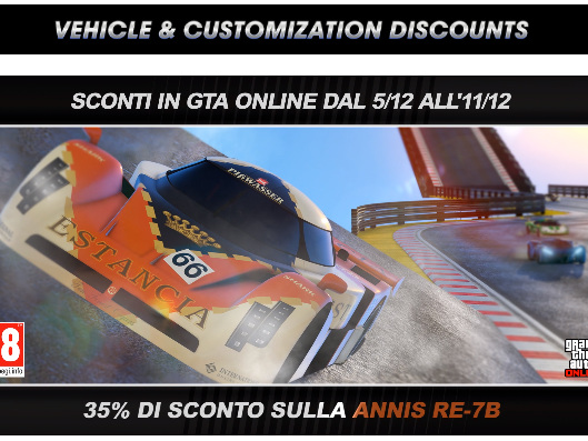 GTA Online – ricompense doppie nella serie di gare stunt