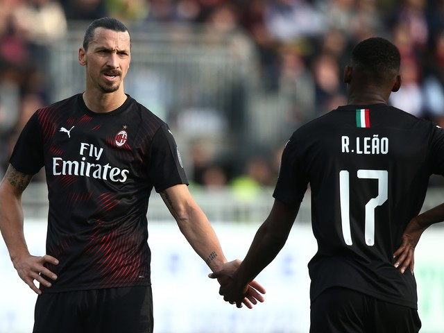 Leao con Ibrahimovic, Rebic in panchina: le ultime su Brescia-Milan