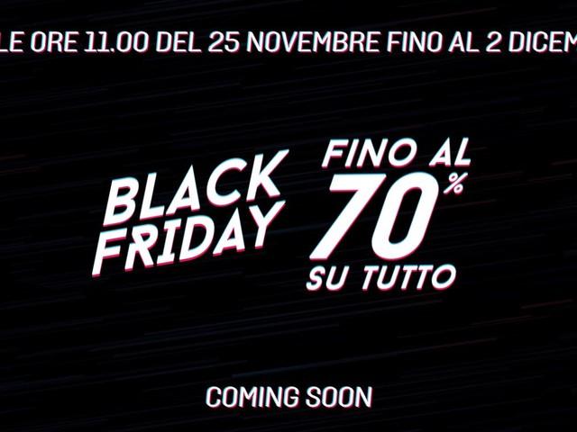 Il Black Friday di GameStop inizia il 25 novembre con sconti fino al 70%