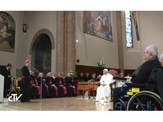 L'incontro di Francesco con la Chiesa di Cesena. Ampia sintesi