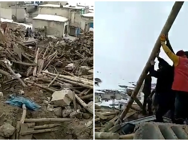 """Terremoto tra Turchia e Iran di magnitudo 5.7: """"Sette morti tra cui tre bambini"""". Le immagini"""