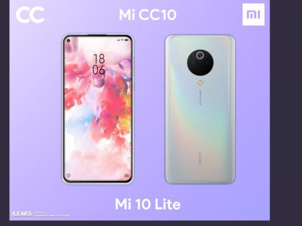 C'è spazio anche per lo Xiaomi Mi 10 Lite: prime immagini render