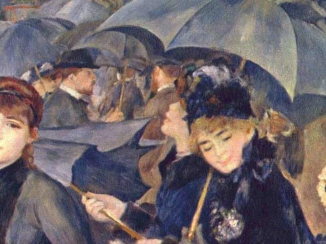 ARTE/ Renoir, che cosa importa se piove?