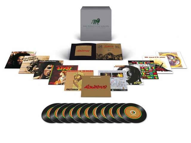 Bob Marley, tutti i dettagli del mega-box da 11LP/CD con le registrazioni per la Island