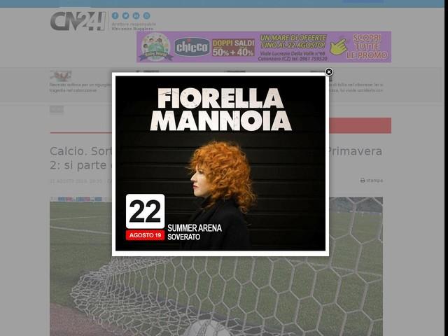 Campionato Primavera Calendario.Calcio Sorteggiato Il Calendario Del Campionato Primavera 2
