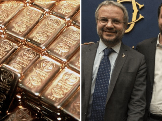 """La Lega, le riserve auree di Bankitalia e """"l'oro degli italiani"""""""