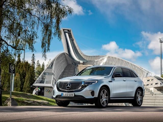 L'elettrica Mercedes-Benz EQC in tour estivo per l'Italia