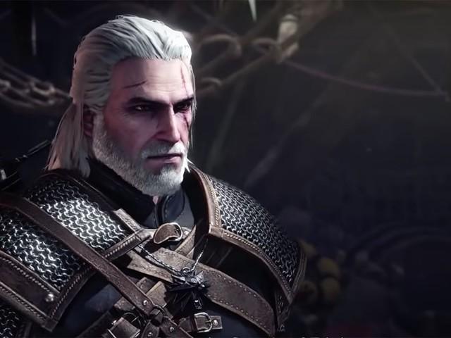 Geralt di Rivia arriva domani in Monster Hunter World