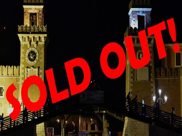 Il CMP Venice Night Trail è sold out! Esauriti i 4.000 pettorali.