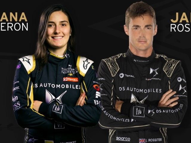 "Formula E: DS Techeetah conferma i loro piloti per il ""rookie test"""