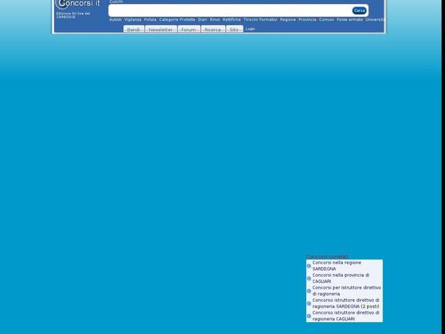 Istruttore direttivo di ragioneria - CAGLIARI - 2 posti