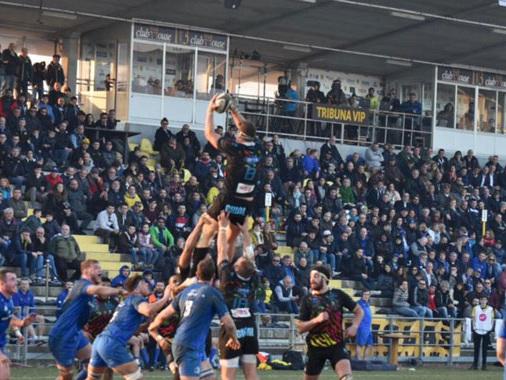 Viadana torna patria del rugby: spettacolo e mete per i 3.300 spettatori dello Zaffanella