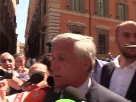 Tajani: Governo al capolinea, ora al voto