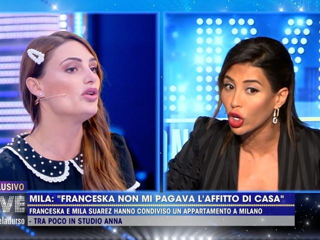 "Mila Suarez contro Franceska Pepe: ""Restituiscimi i miei soldi"""