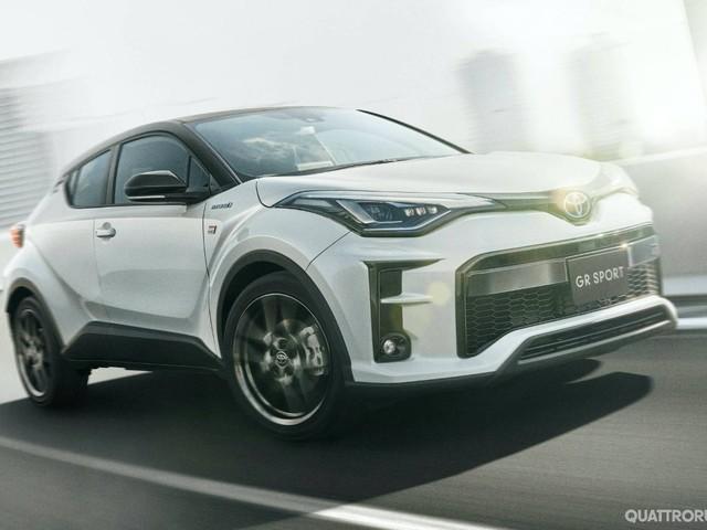 Toyota C-HR - In Giappone debutta la versione GR Sport