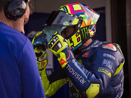 """Valentino Rossi: """"Pilota aggressivo? Bisogna comportarsi come lui"""""""
