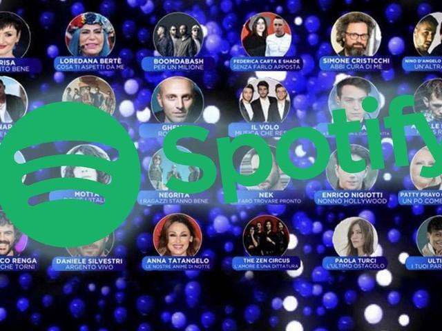 Sanremo 2019: ecco la classifica dei brani più ascoltati su Spotify (possibile vincitore individuato)