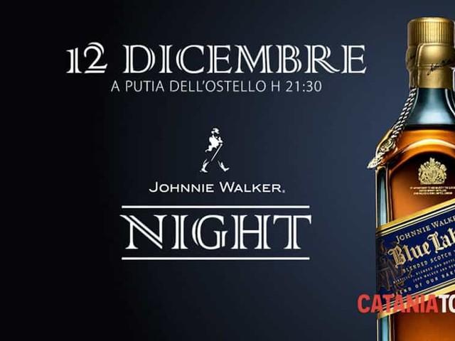 'Johnnie Walker night' all'Ostello