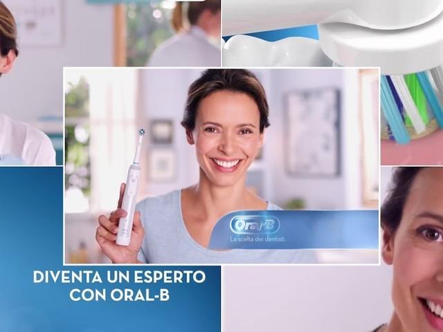 """Le modelle della pubblicità: l'attrice dello spot Oral B """" La scelta dei dentisti"""""""
