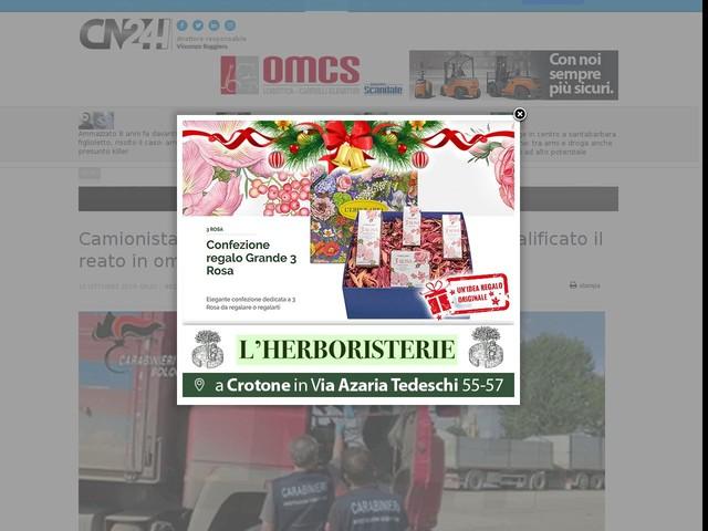 Camionista investito e ucciso nel Bolognese, riqualificato il reato in omicidio stradale