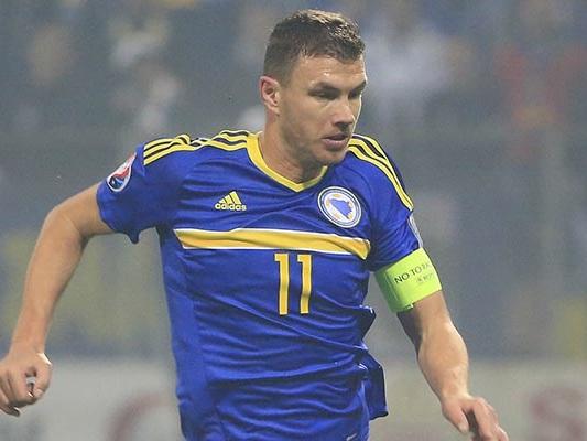 Dzeko: la Roma chiede al ct della Bosnia un minutaggio limitato