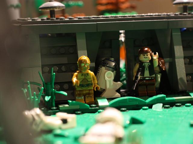 Fotoreportage del'area LEGO all'evento Ravenna Strikes Back