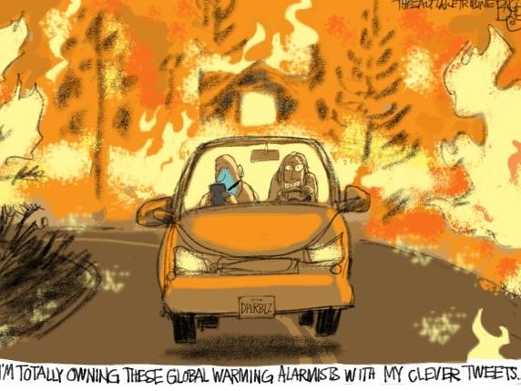 Allarme rosso estremo per i mega-incendi in California