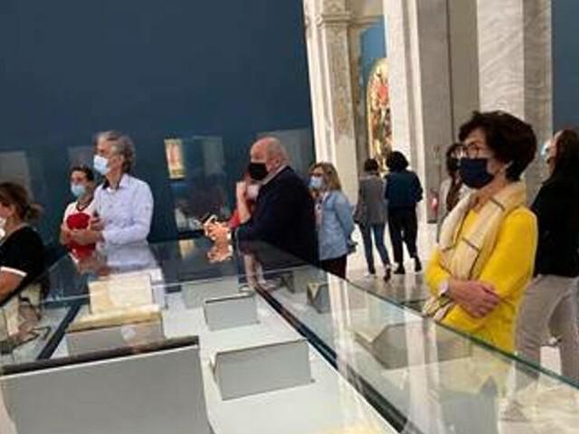Cervia, operatori turistici al 'San Domenico' per la mostra dedicata a Dante