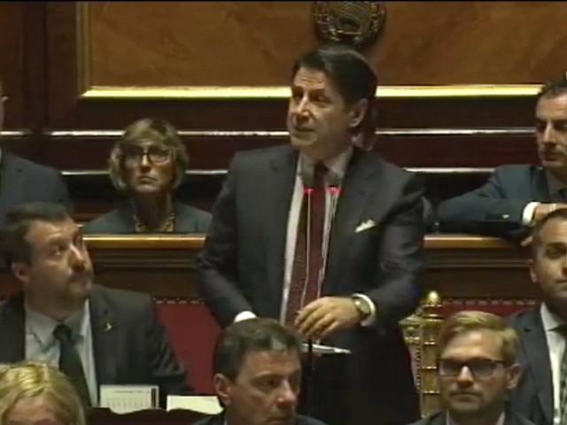 """Governo, Conte: """"Crisi scelta grave di Salvini. Lega si assuma sue responsabilità"""""""
