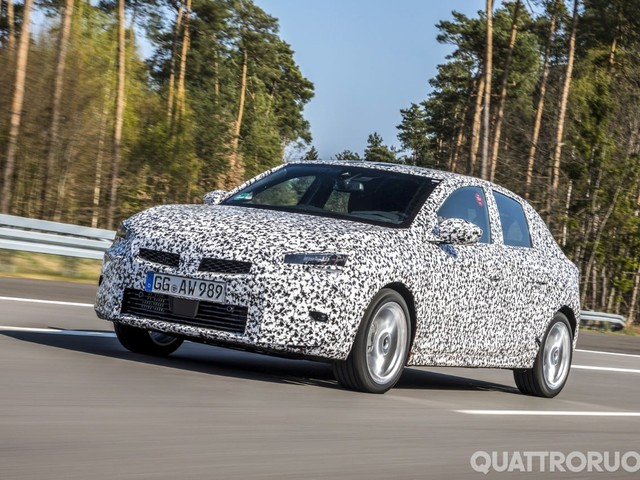 Opel Corsa - Al volante del prototipo