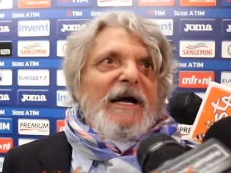 """Samp, minacce dei tifosi a Ferrero: """"Infame, allo stadio non entri più"""""""