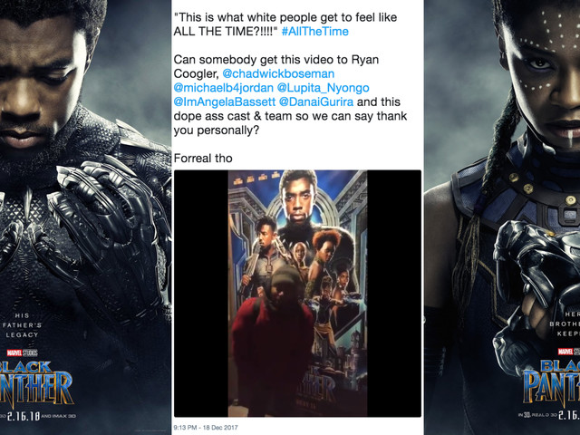 The Internet's Favorite Black Panther Fans Talk About Finally Going to Wakanda