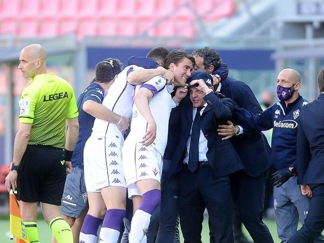 Brivido Lazio, serve l'impresa. I viola si affidano ancora a Vlahovic