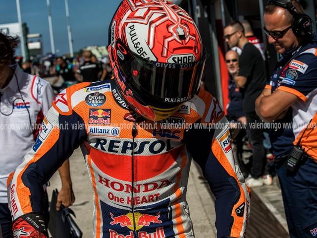 """Marc Marquez MotoGP, GP San Marino 2019: """"Non capisco il gesto di Rossi, mi torna in mente la Malesia 2015…"""""""