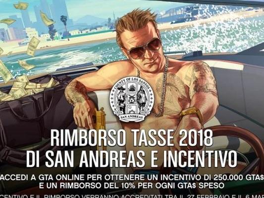 Grand Theft Auto Online, Rockstar annuncia un rimborso tasse e alcuni incentivi per gli utenti - Notizia - PS4