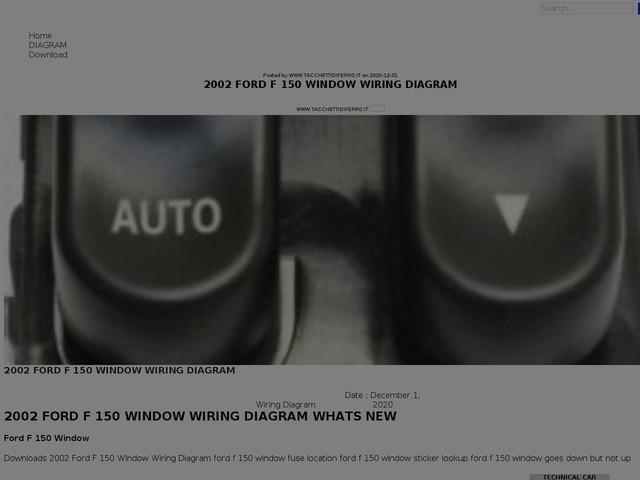 Ford F 150 Window Wiring Diagram