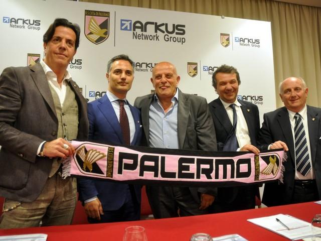 Finisce l'era Zamparini, il Palermo passa alla Arkus Network