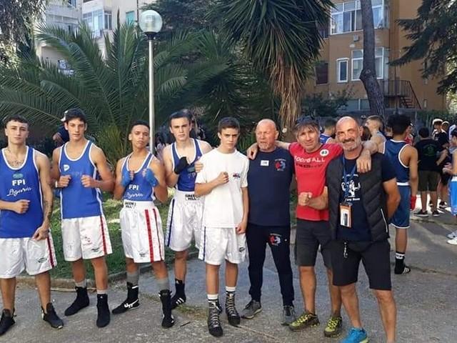 Trasferta positiva in terra Toscana per i giovani pugili liguri Tahiri Ilyass e Thomas Fontò della Sanremo Boxe