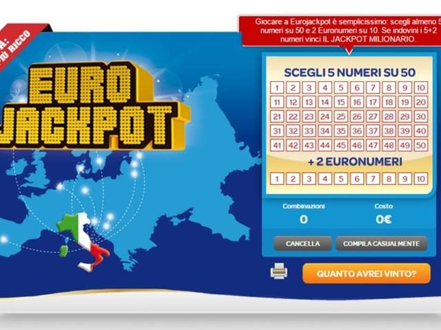 Estrazione Eurojackpot: i numeri vincenti estratti oggi, venerdì 18 ottobre 2019