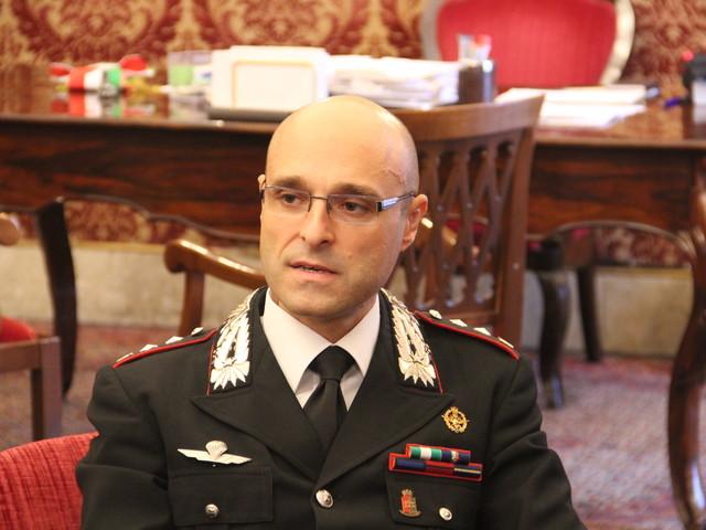 Centinaia di arresti per mafia e meno reati predatori a Monreale, il colonnello Sutera saluta la città