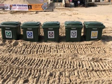 Servizi aggiuntivi, via alla raccolta quotidiana dei rifiuti nelle spiagge di Castellammare