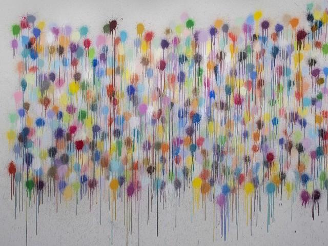 Il ritmo del colore. Ian Davenport a Milano