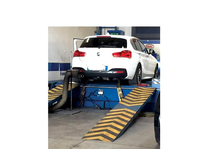 BMW 125d elaborazione 292 CV