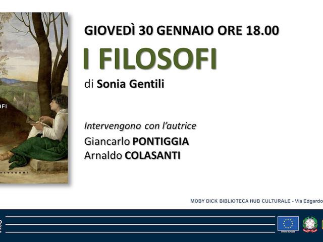 I FILOSOFI di Sonia Gentili alla biblioteca MOBY DICK