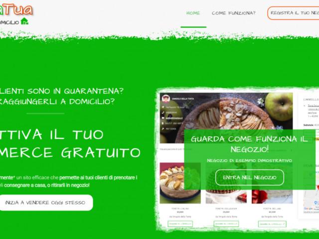 """Coronavirus: nasce """"aCasaTua"""", l'eCommerce gratuito per i commercianti, con consegna a domicilio per i clienti"""