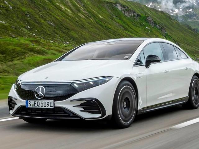 Mercedes-Benz EQS - Al volante dellelettrica tutto lusso ed efficienza
