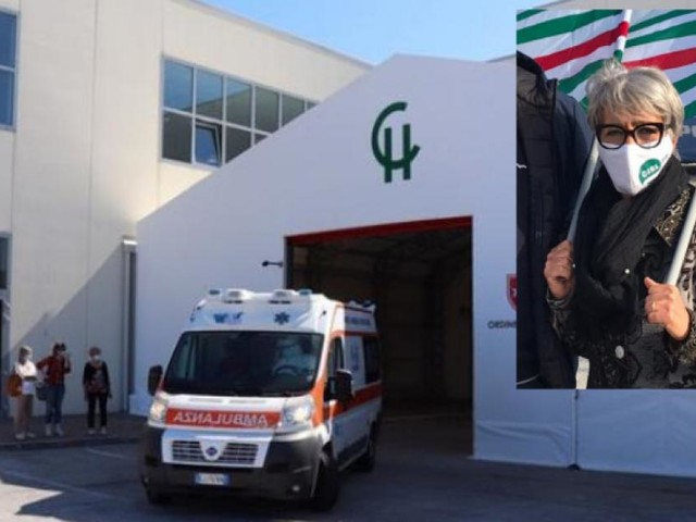 """Covid Hospital da soluzione a problema per la Cisl: """"Attivo solo grazie ai tagli negli altri ospedali"""""""